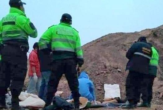 Deudos de víctimas de mina informal de Cocachacra exigen justicia