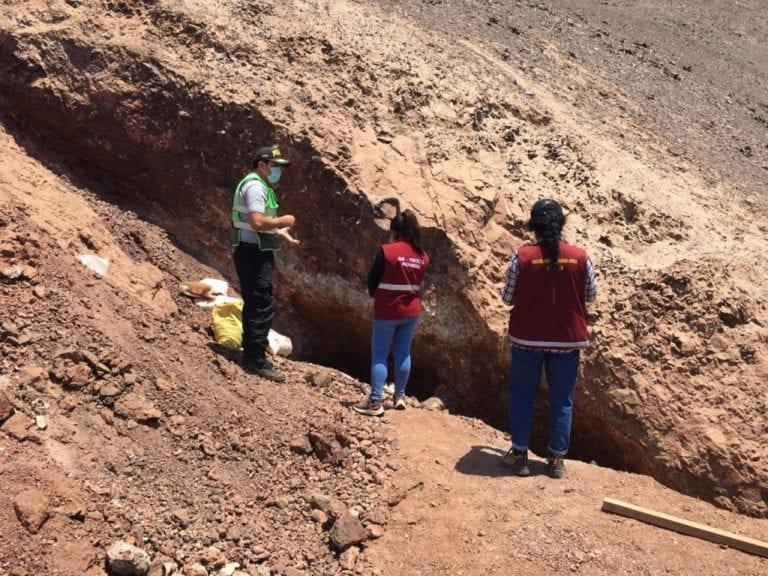 Subprefectura y PNP inspeccionan mina Crisol en donde fallecieron tres obreros