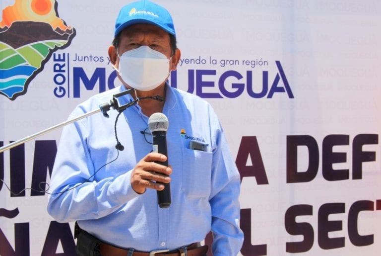 Gobernador regional Zenón Cuevas se reunió con OBRAINSA y ATA