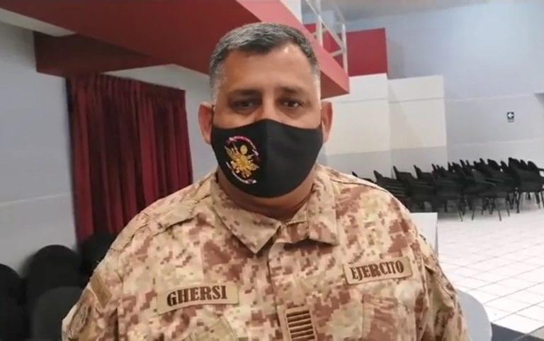 Ilo: Ejército continúa brindando seguridad en las jornadas de vacunación