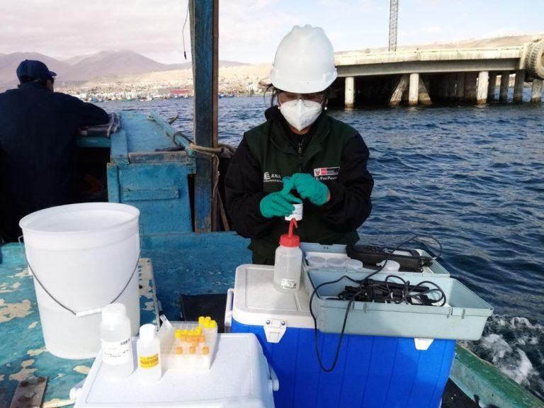 ANA culmina monitoreo de calidad de agua en la costa de Ilo