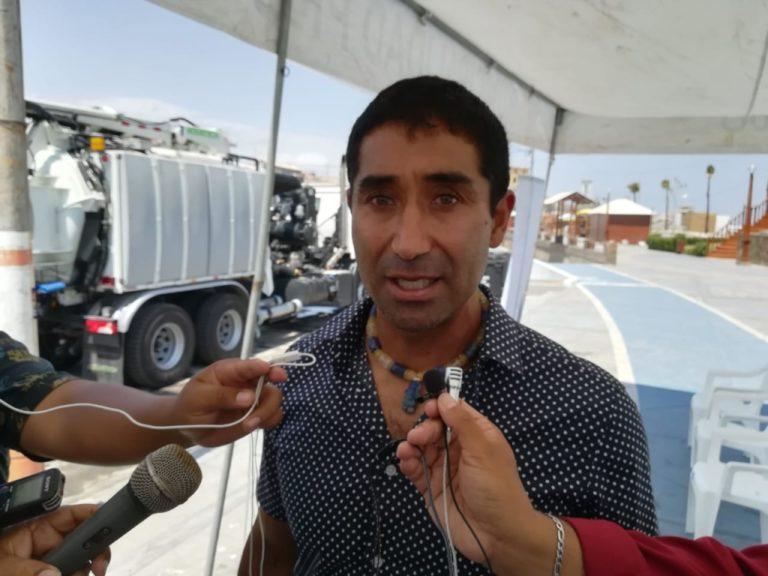 Alcalde Rivera exige a la ANA que Pasto Grande entregue agua para el valle de Tambo