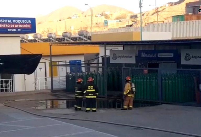 Se registra amago de incendio en planta de oxígeno del Hospital COVID