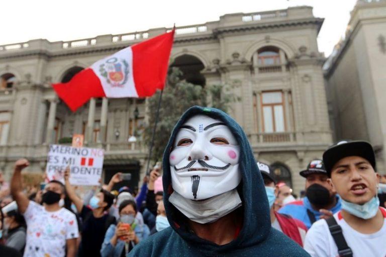 Anonymous hackeó web del Congreso