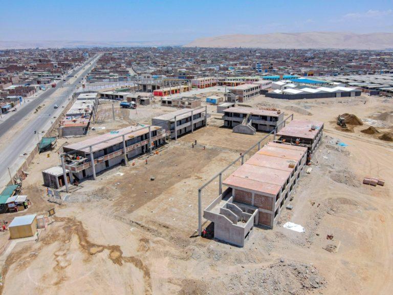 42% de avance en construcción de nueva infraestructura educativa que promueven Southern Peru y GRT