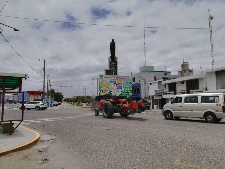 Disponen embanderamiento total del distrito de Deán Valdivia