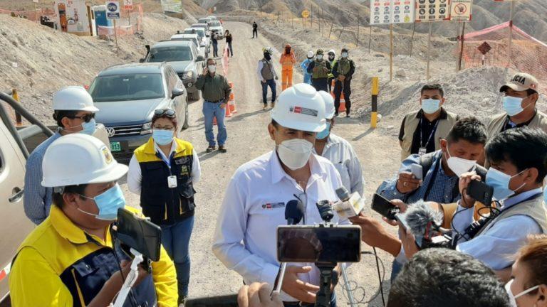 Ministro de Transportes y Comunicaciones inspeccionó obras viales y el malecón ribereño