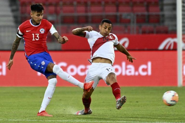 Perú sigue sin ganar en las Eliminatorias Qatar 2022: cayó por 2-0 ante Chile