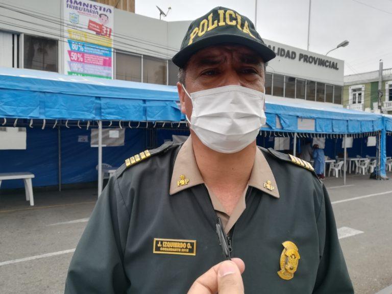 Policía de Mollendo impone al menos 20 papeletas el fin de semana