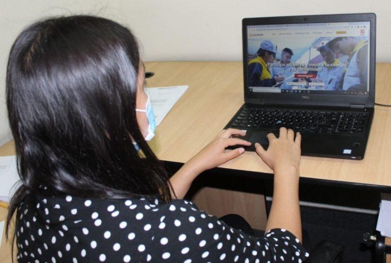 Más de tres mil estudiantes de secundaria vigilarán dictado de clases virtuales en Arequipa