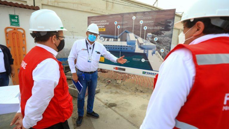 Antes de fin de año estará operativo el desembarcadero pesquero de Ilo, asegura Produce