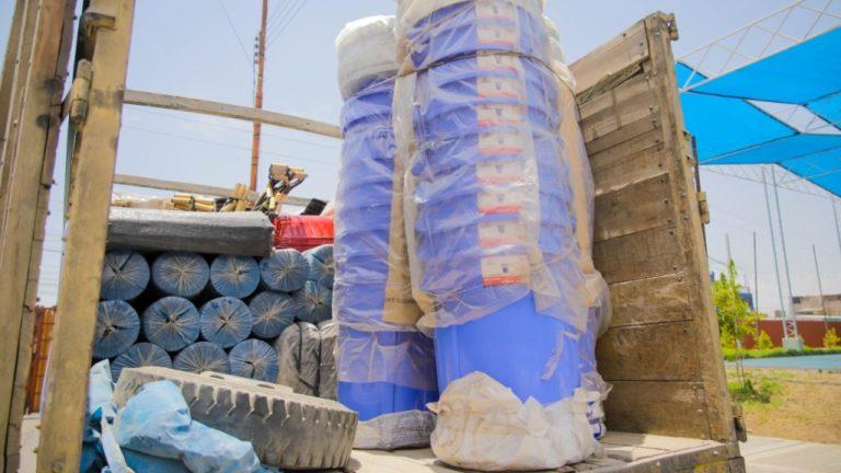 Mollendo cuenta con almacén adelantado para emergencias por lluvias e inundaciones