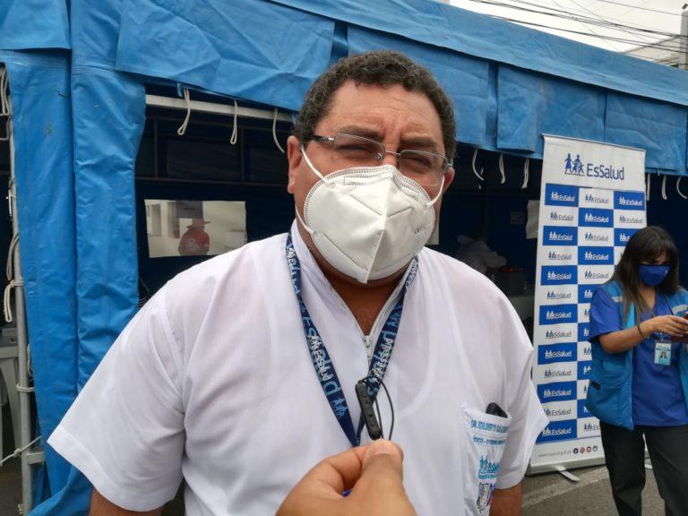 Arequipa: Dr. Edilberto Salazar pide cuarentena estricta por 15 días
