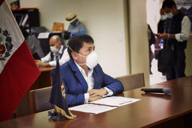 Cáceres Llica insiste en reunión personal con presidente Sagasti