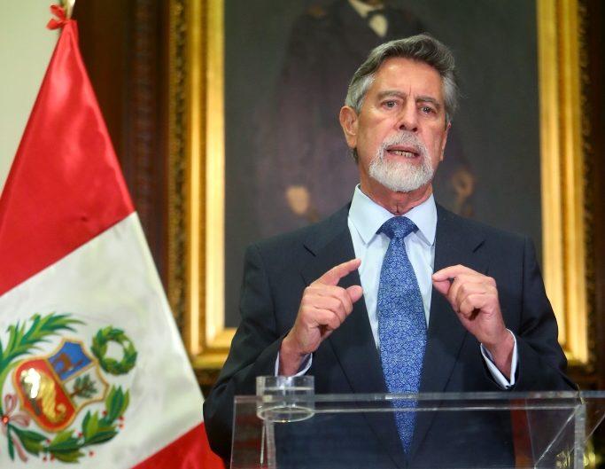 Francisco Sagasti nombró a César Augusto Cervantes Cárdenas como nuevo comandante general de la PNP