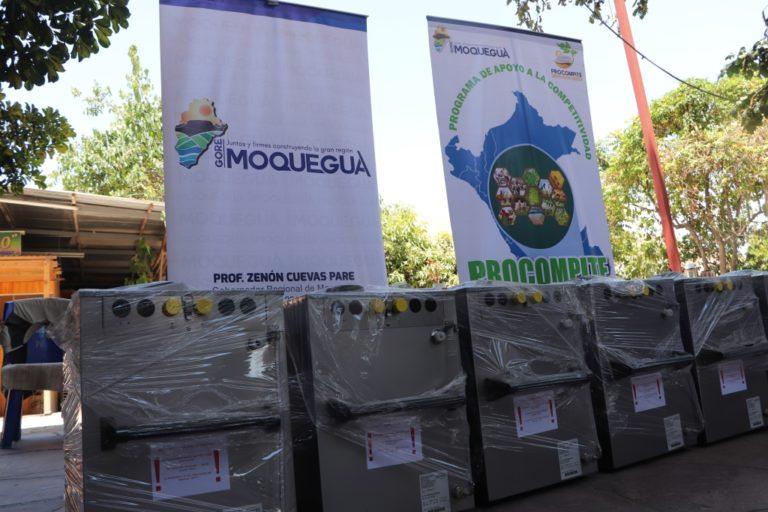 GORE Moquegua fortalece sector vitivinícola