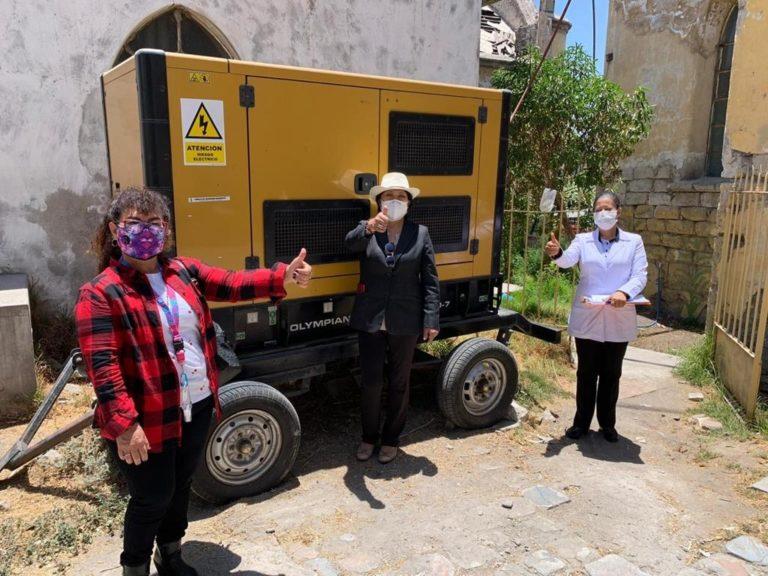 Southern Peru entrega grupo electrógeno para hospital Goyeneche