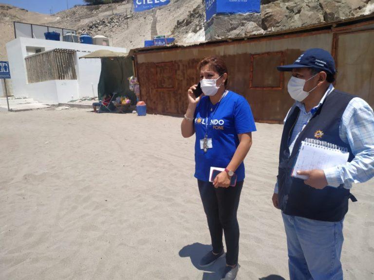 Geresa Arequipa verifica incumplimiento de medidas sanitarias en playas de Mollendo y Catarindo