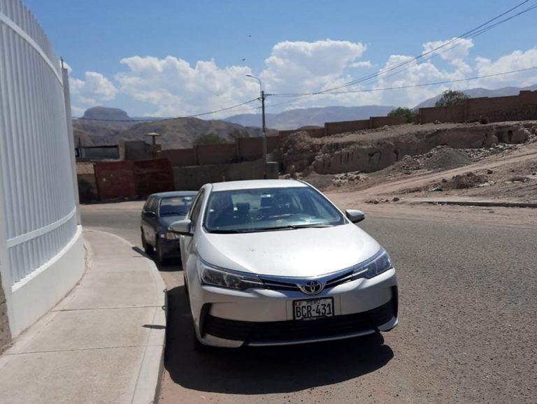 Administrador del Ministerio Público de Moquegua se alquila vehículo para uso personal y no pasa nada