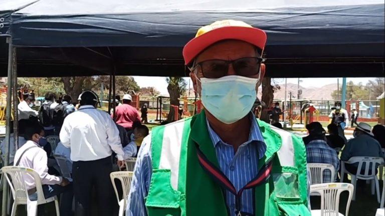 Agricultores exigen defensa ribereña al Gobierno Regional de Moquegua