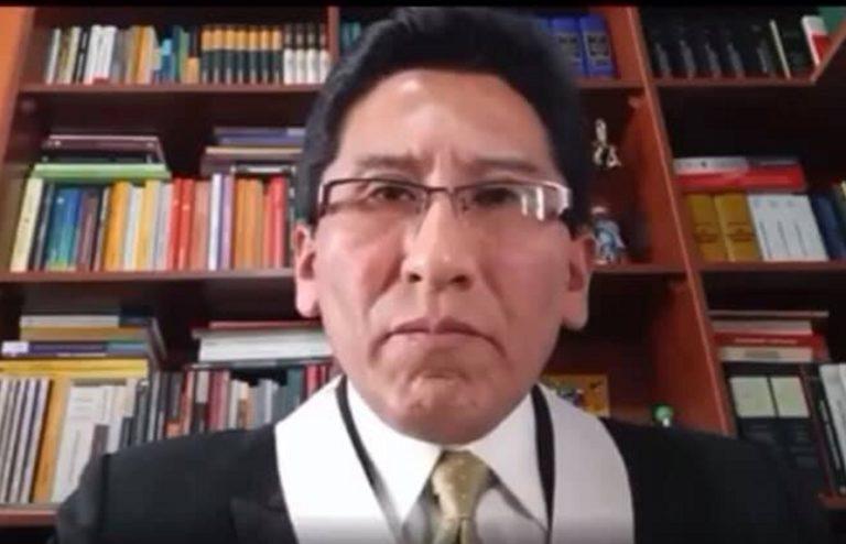 Magistrados de Arequipa rechazan insultos en contra de juez Luis Madariaga
