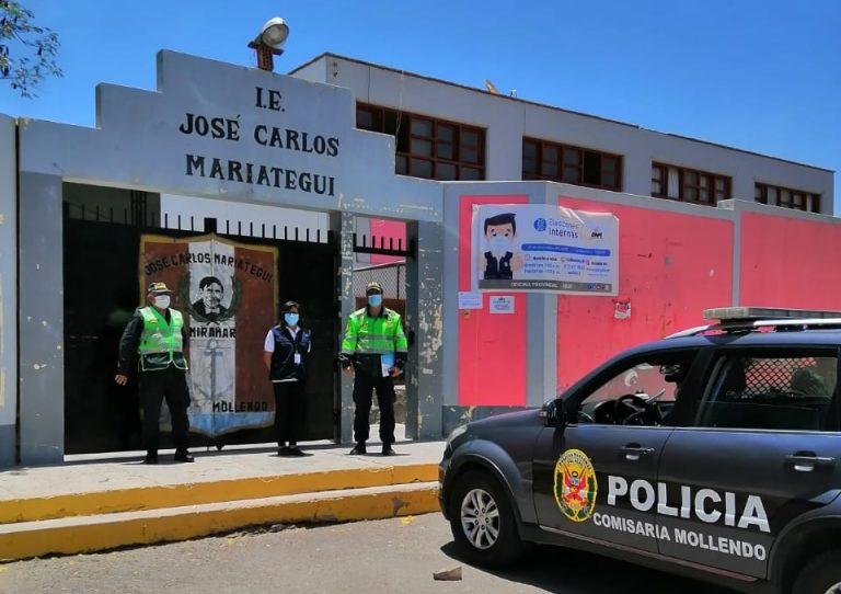 ONPE instala mesas de votación para elecciones internas en Mollendo