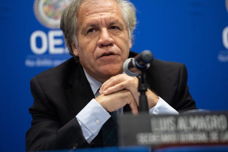 Secretario general de la OEA saluda designación de Francisco Sagasti