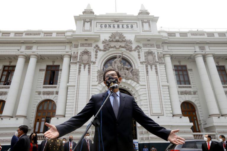 Martín Vizcarra: «Me voy con la conciencia tranquila y el deber cumplido»