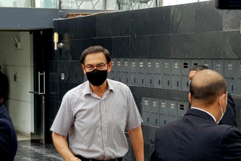 Martín Vizcarra se somete a investigación y acudirá a citación de fiscal Juárez Atoche