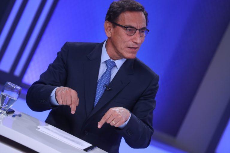 Presentan denuncia constitucional contra el expresidente Martín Vizcarra