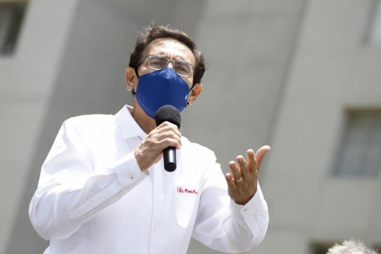 Martín Vizcarra evalúa ser candidato al Congreso en las elecciones de 2021