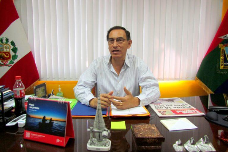 Lomas de Ilo: Martin Vizcarra dio S/ 17.3 millones en adicionales a Obrainsa-Astaldi