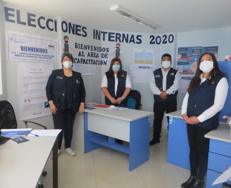 ONPE: Instalarán ocho mesas de sufragio en Islay para elecciones internas