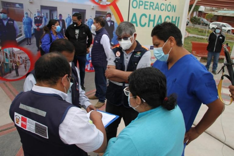 """Realizan décima versión de operación """"Achachi"""" en la Pampa Inalámbrica"""