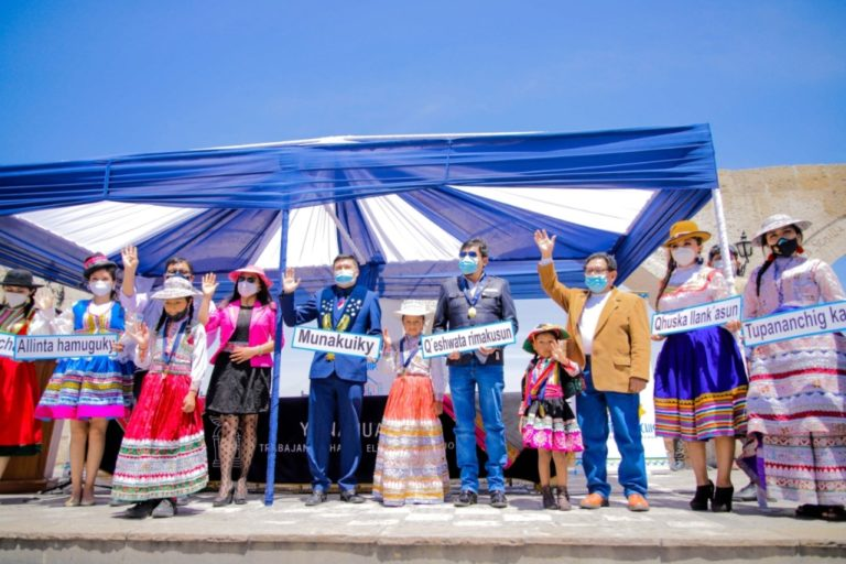 Con ordenanza regional aplicarán uso del idioma quechua en colegios de Arequipa