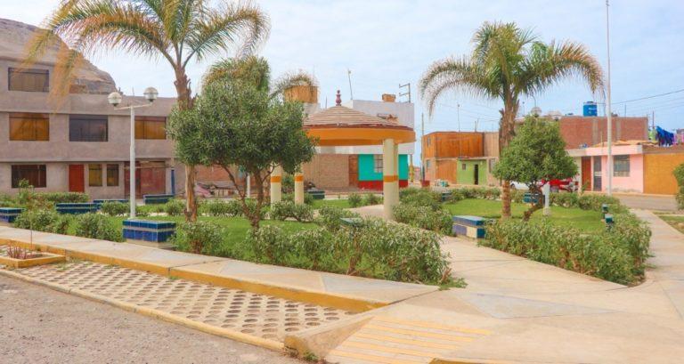 Realizan recuperación de áreas verdes en Punta de Bombón