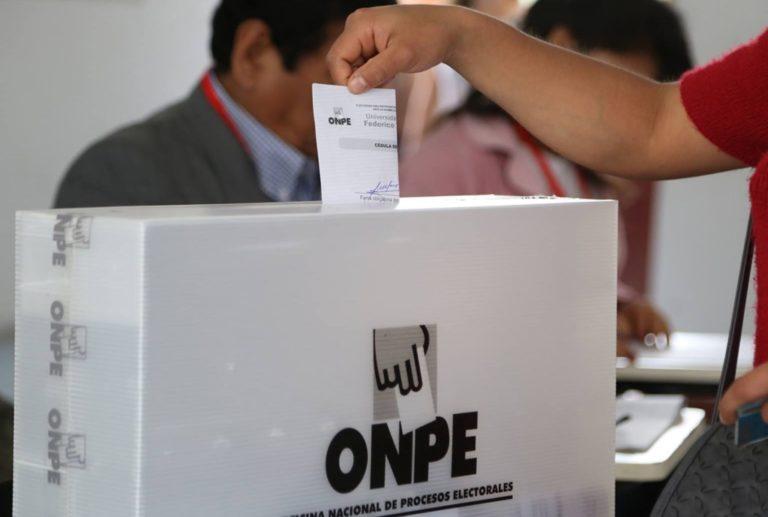 Ya está disponible plataforma para elegir local de votación