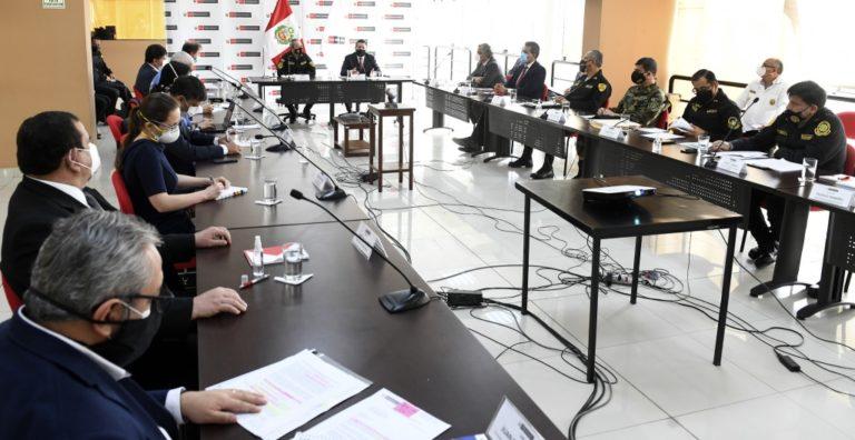 Mininter se reunió con representantes de ONU por protestas