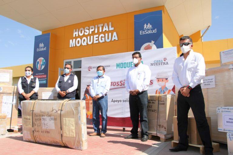 Southern Peru donó equipos para implementar laboratorio molecular de Moquegua