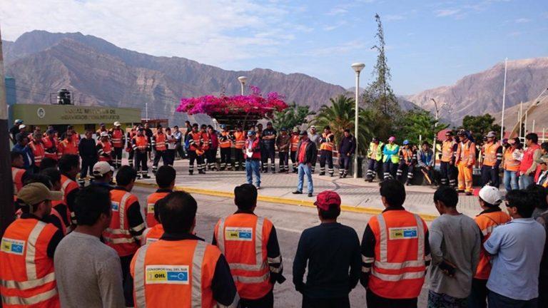 400 trabajadores perjudicados por paralización de obra carretera Omate-Arequipa