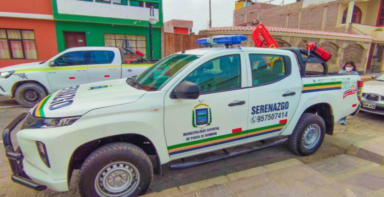 Municipio punteño adquiere camioneta para seguridad ciudadana