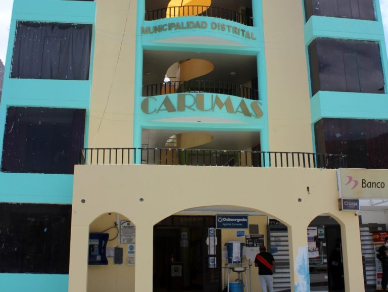 Cinco trabajadores del municipio de Carumas dan positivo a Covid-19