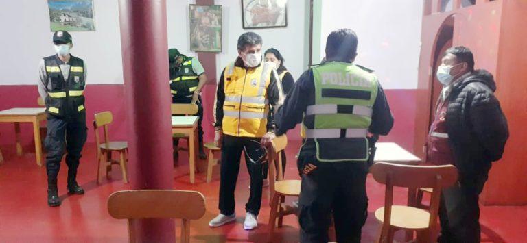 Municipio cierra otro bar clandestino en Matarani