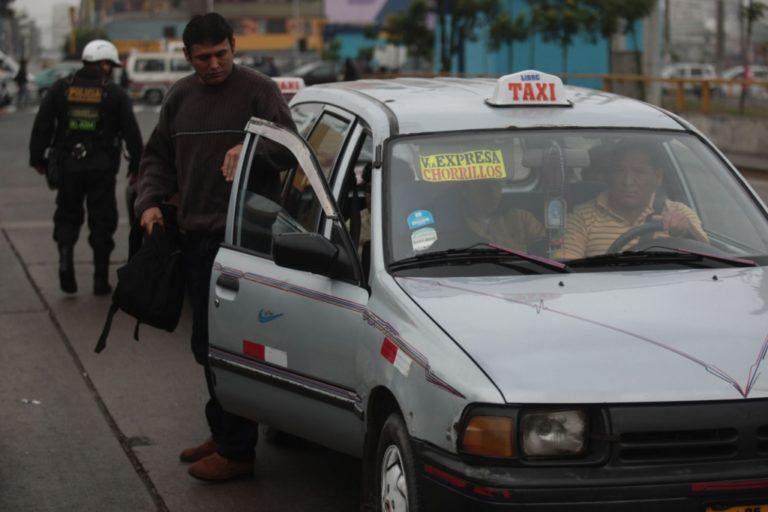 Congreso aprueba por insistencia formalización de taxis colectivos a nivel nacional