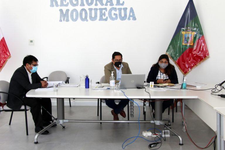 Gerencias del GORE Moquegua volverán a ser direcciones regionales