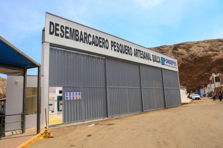 ¿Y el DPA El Faro?: Produce inaugura desembarcadero en Quilca