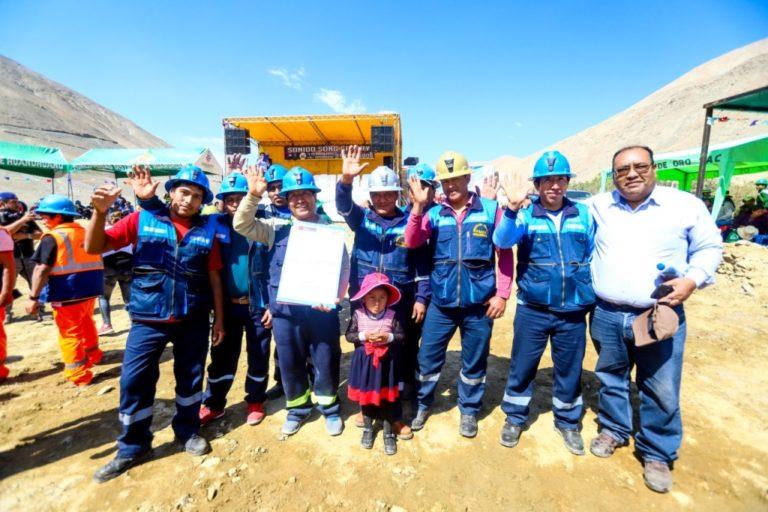 Más de 1500 mineros logran formalizarse durante el año 2020