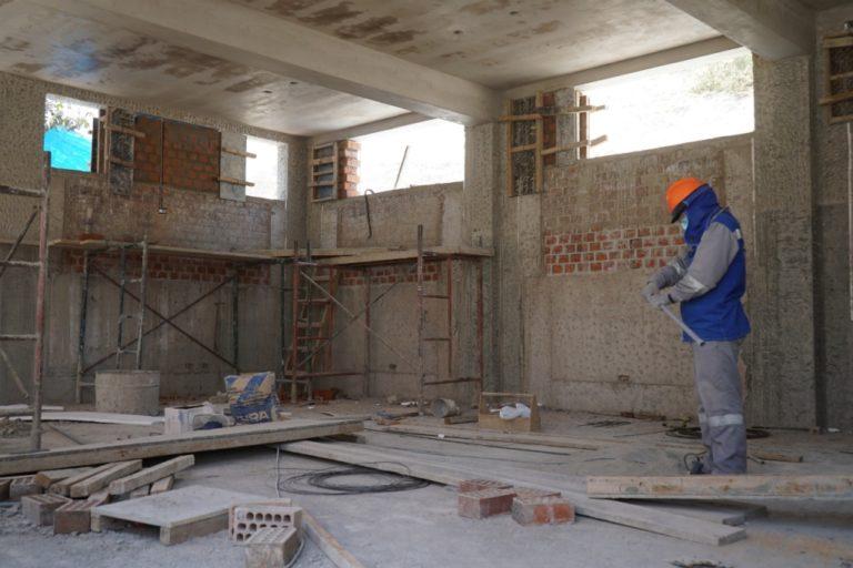 En ejecución modernos ambientes educativos en la I.E. Inicial N° 365 en Villa Ingeniería