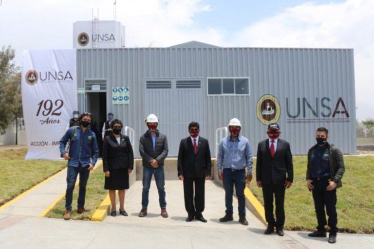 Inauguran planta de oxígeno en Hospital Docente de la UNSA