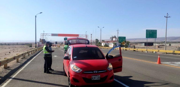 Intervienen auto que habría participado en asalto a distribuidores de alimentos
